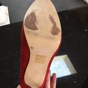 Dolce Vita Shoes - Dolce Vita Red heels